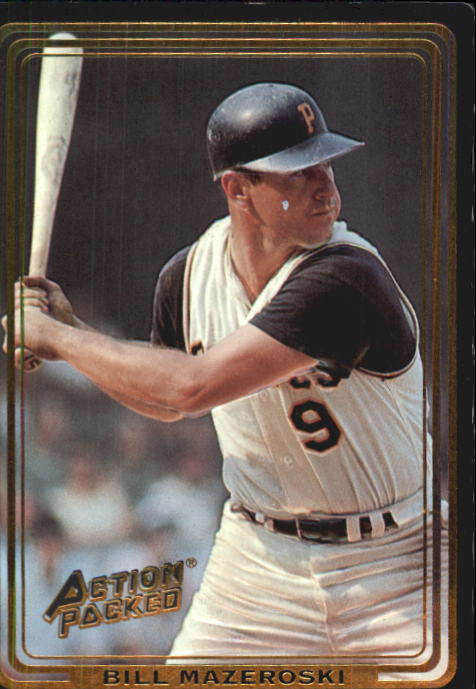 1992 Action Packed ASG #69 Bill Mazeroski