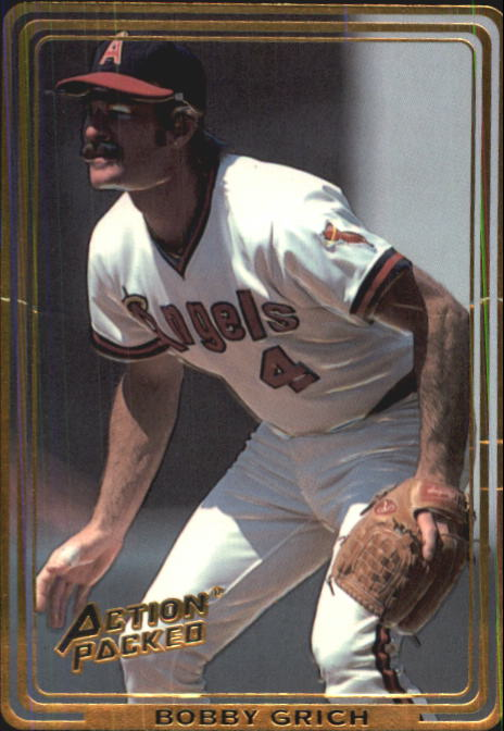 1992 Action Packed ASG #71 Bob Grich