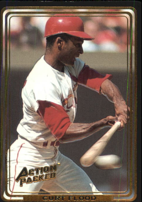 1992 Action Packed ASG #72 Curt Flood
