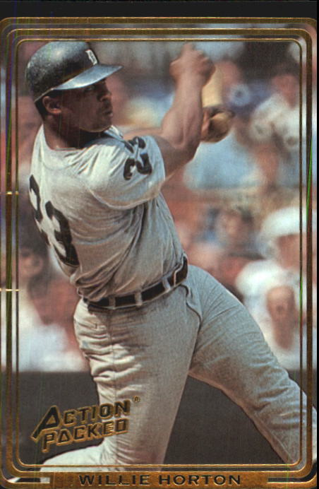 1992 Action Packed ASG #73 Willie Horton