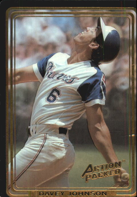 1992 Action Packed ASG #75 Davey Johnson