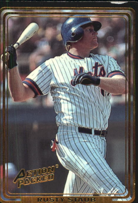 1992 Action Packed ASG #81 Rusty Staub