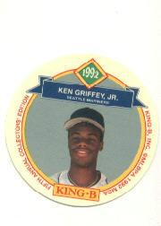 1992 King-B Discs #8 Ken Griffey Jr.