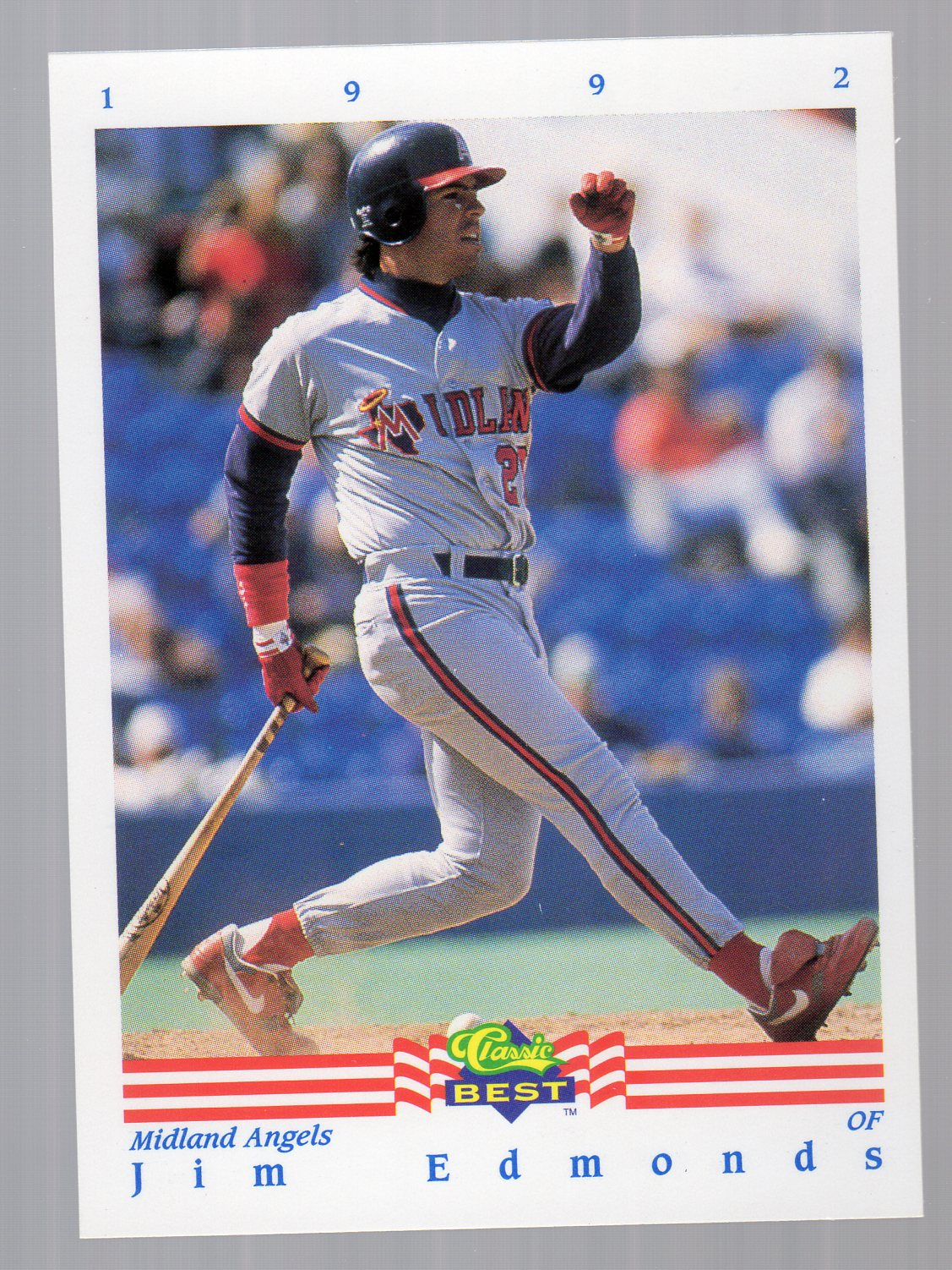 1992 Classic/Best #343 Jim Edmonds
