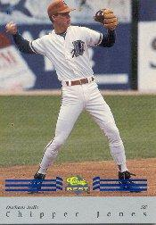 1992 Classic/Best Blue Bonus #BC7 Chipper Jones