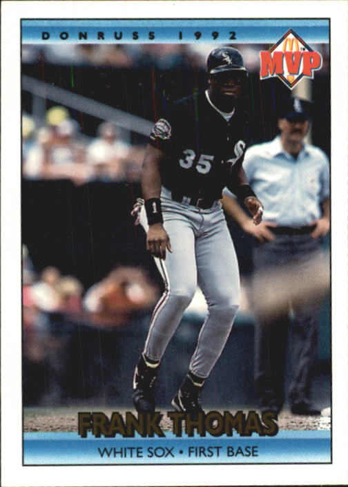 1992 Donruss McDonald's #2 Frank Thomas
