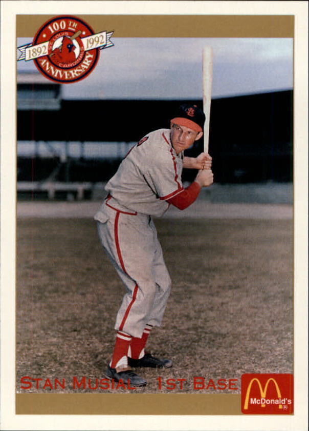 1992 Cardinals McDonald's/Pacific #22 Stan Musial