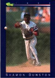 1992 Classic Game #28 Shawon Dunston