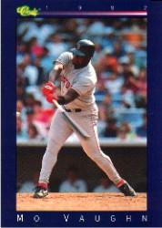 1992 Classic Game #73 Mo Vaughn