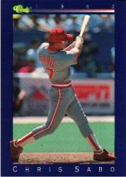 1992 Classic Game #79 Chris Sabo