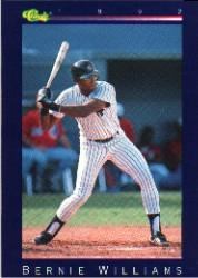 1992 Classic Game #102 Bernie Williams