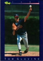 1992 Classic Game #124 Tom Glavine