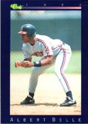 1992 Classic Game #140 Albert Belle