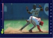 1992 Classic Game #155 Barry Bonds
