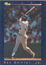 1992 Classic Game #186 Ken Griffey Jr.