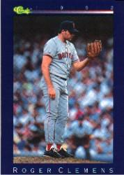 1992 Classic Game #189 Roger Clemens