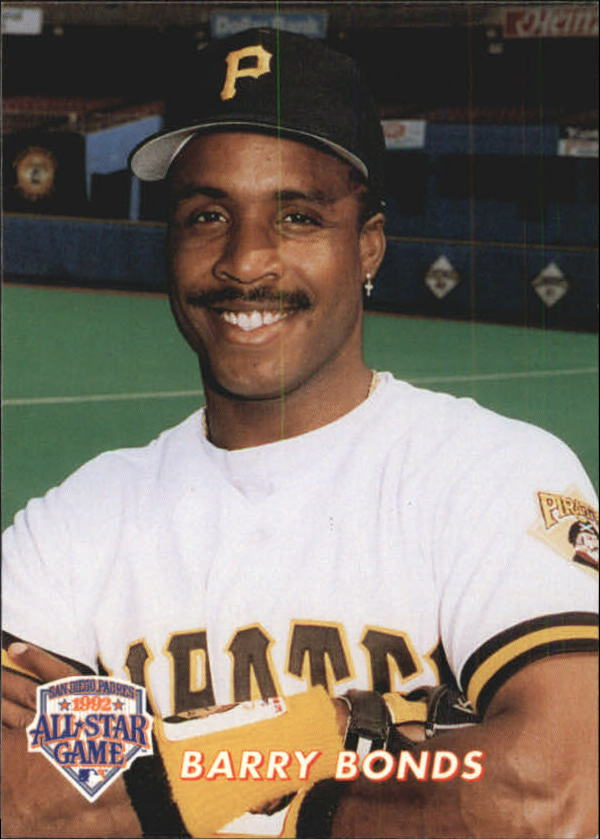1992 Colla All-Star Game #22 Barry Bonds