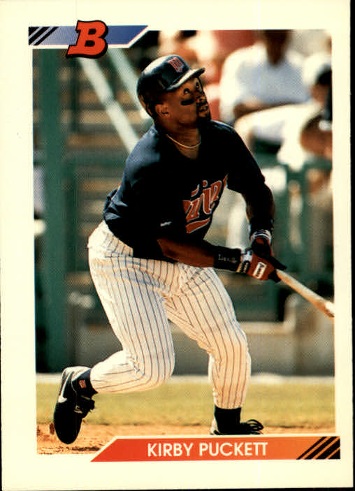 1992 Bowman #80 Kirby Puckett