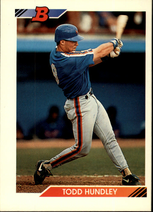 1992 Bowman #101 Todd Hundley