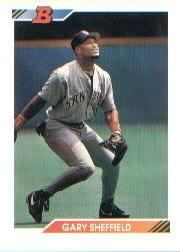 1992 Bowman #214 Gary Sheffield