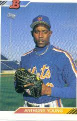 1992 Bowman #268 Anthony Young