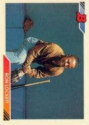 1992 Bowman #303 Ron Lockett RC
