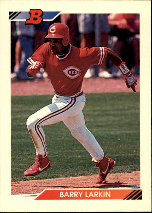 1992 Bowman #353 Barry Larkin