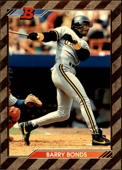1992 Bowman #590 Barry Bonds FOIL