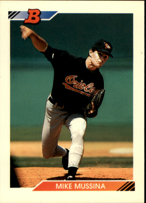 1992 Bowman #612 Mike Mussina