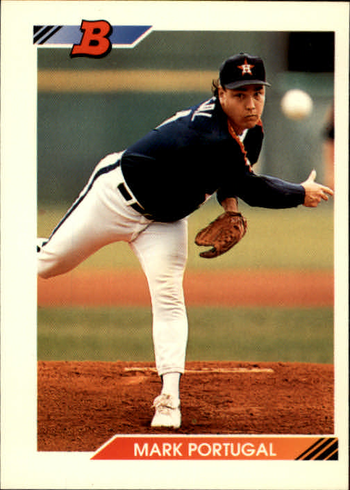 1992 Bowman #656 Mark Portugal