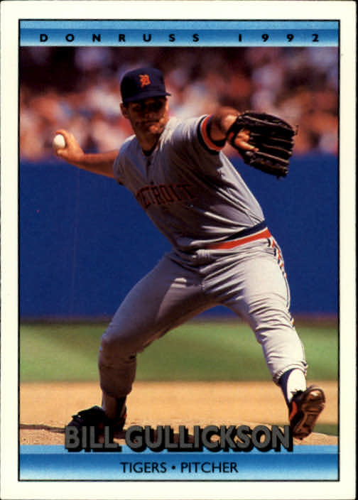 1992 Donruss #131 Bill Gullickson