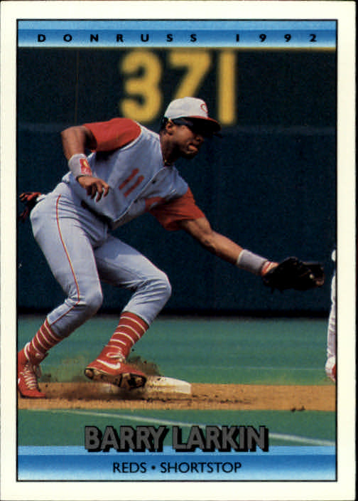 1992 Donruss #185 Barry Larkin