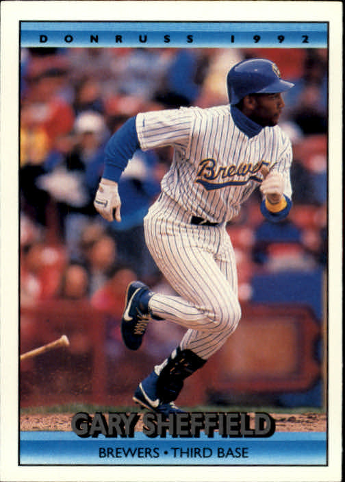 1992 Donruss #192 Gary Sheffield