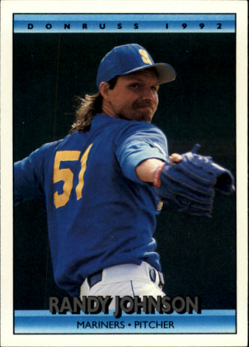 1992 Donruss #207 Randy Johnson