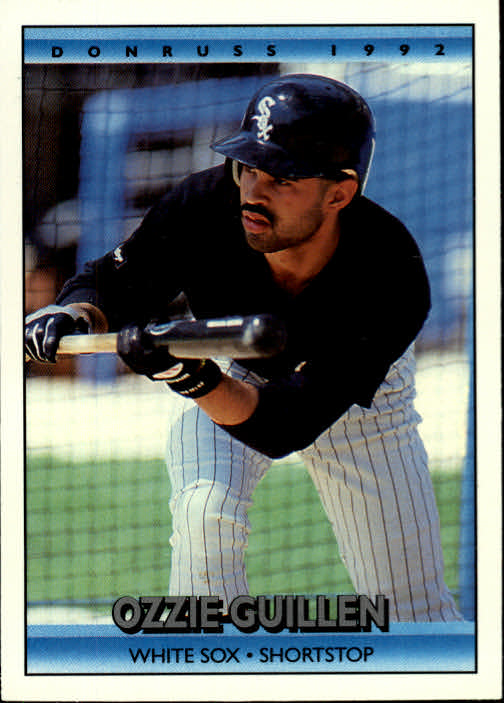 1992 Donruss #229 Ozzie Guillen