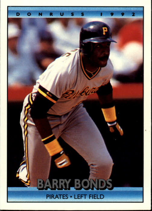 1992 Donruss #243 Barry Bonds