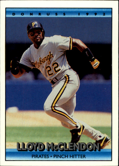 1992 Donruss #338 Lloyd McClendon