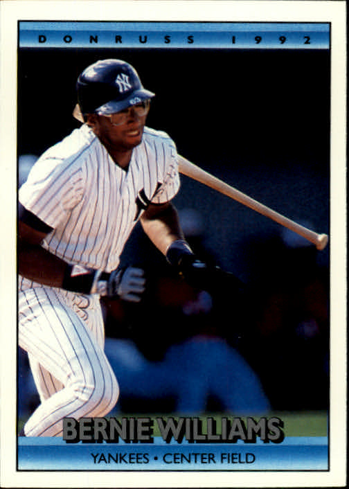 1992 Donruss #344 Bernie Williams