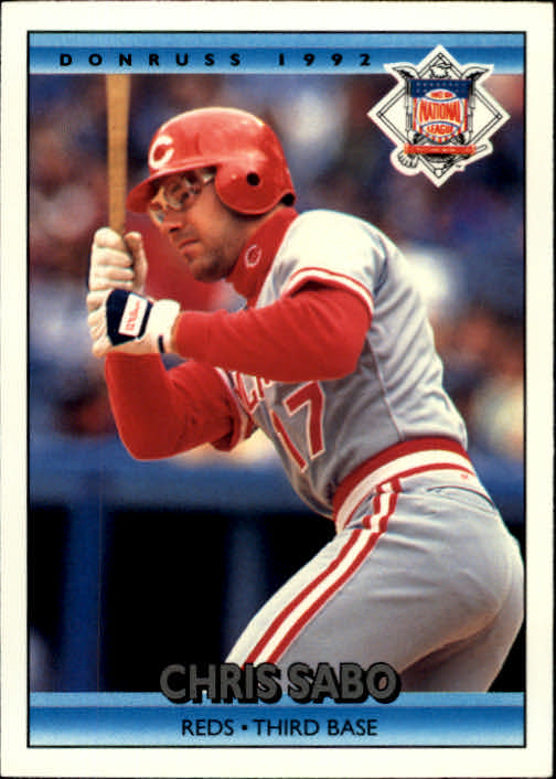 1992 Donruss #424 Chris Sabo AS