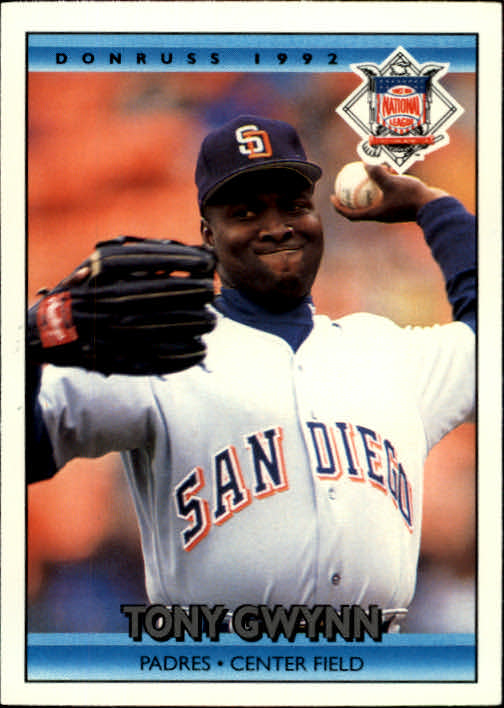 1992 Donruss #425 Tony Gwynn AS