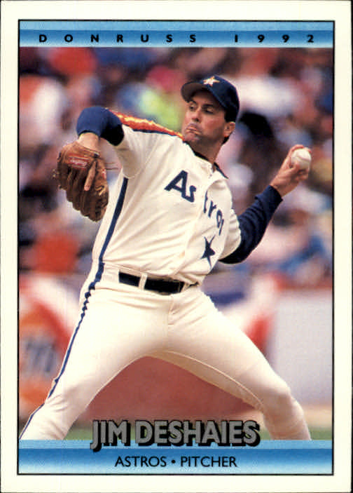 1992 Donruss #515 Jim Deshaies