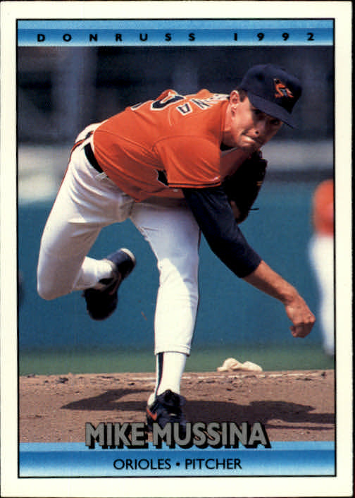 1992 Donruss #632 Mike Mussina