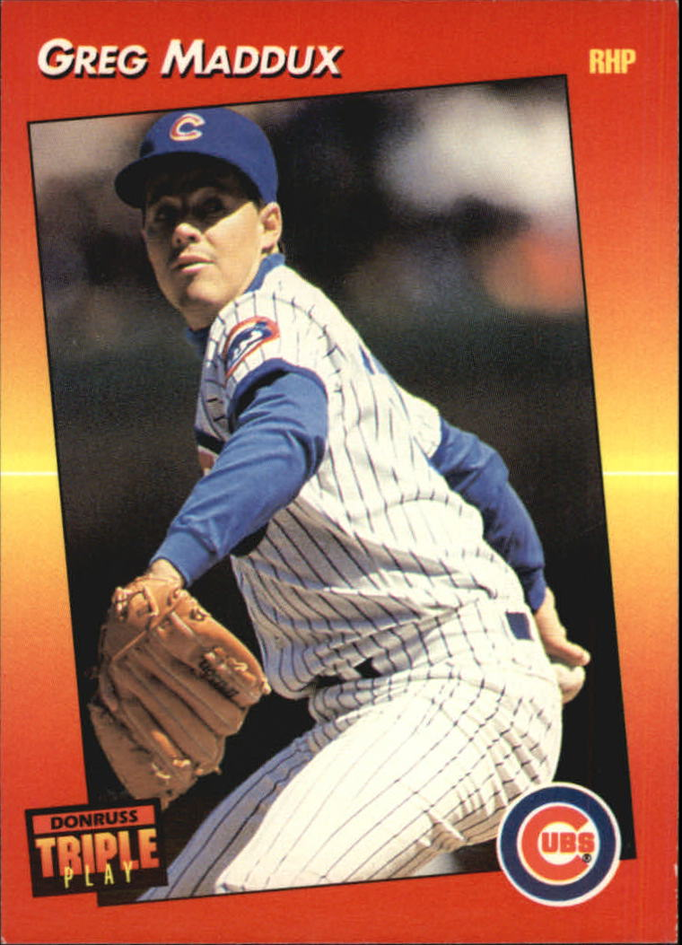 1992 Triple Play #19 Greg Maddux