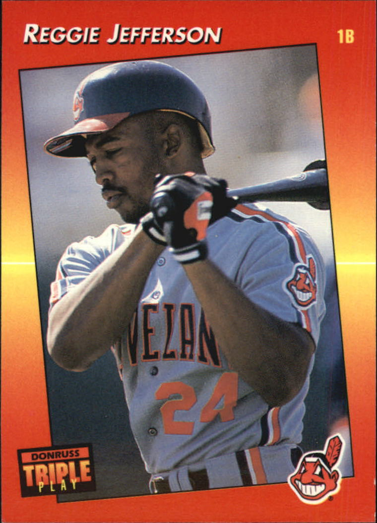 1992 Triple Play #24 Reggie Jefferson