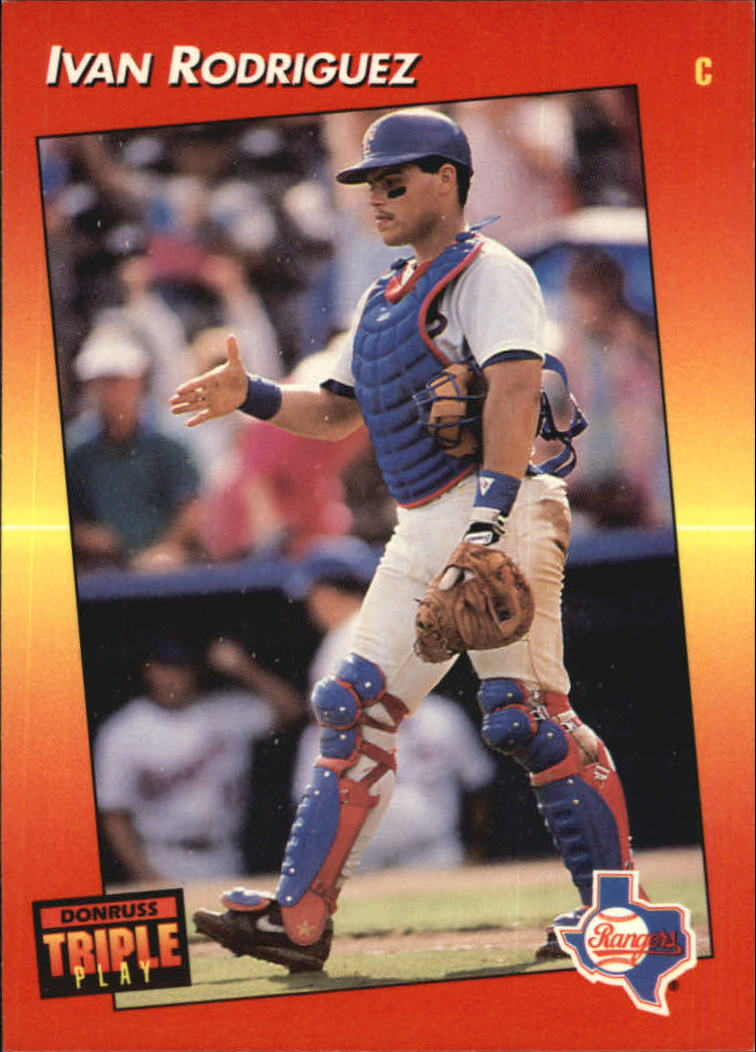 1992 Triple Play #51 Ivan Rodriguez