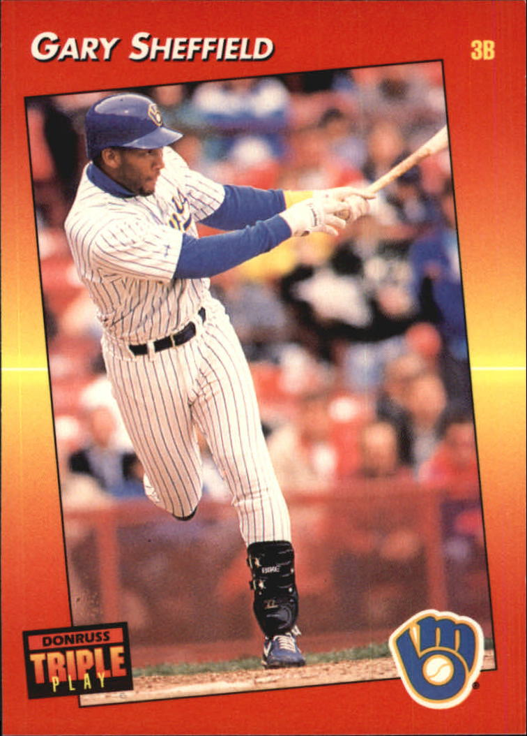 1992 Triple Play #53 Gary Sheffield