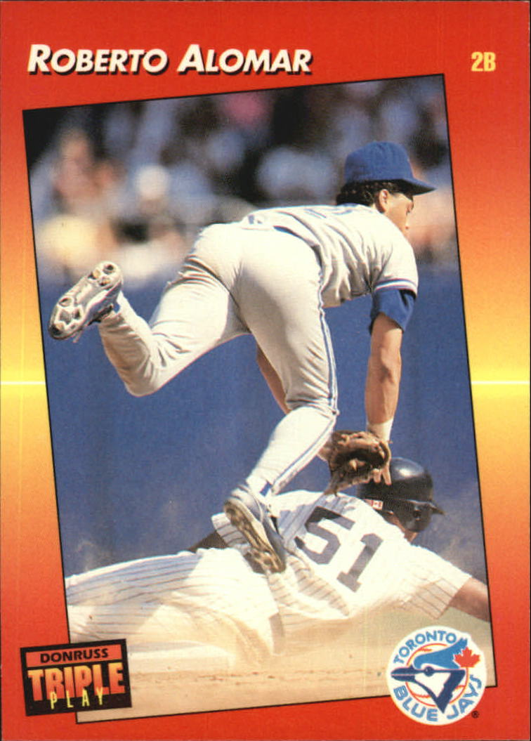 1992 Triple Play #84 Roberto Alomar