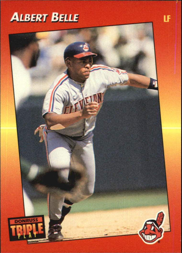 1992 Triple Play #103 Albert Belle