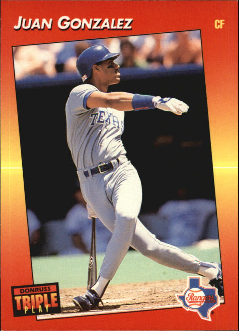 1992 Triple Play #112 Juan Gonzalez