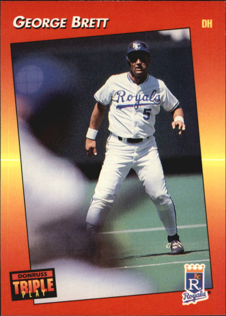 1992 Triple Play #115 George Brett